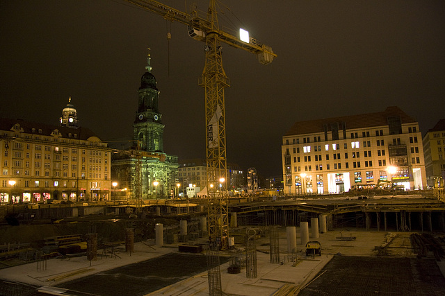 Altmarkt Baustelle