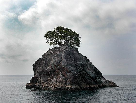 Small island at Mergui Archipelago, Burma