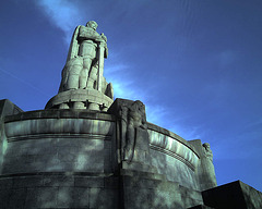 Bismark-Denkmal, Hamburg / 070422 185933