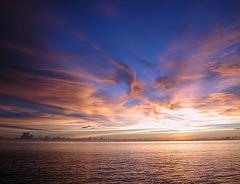 Sunset at the Andaman Sea, Burma