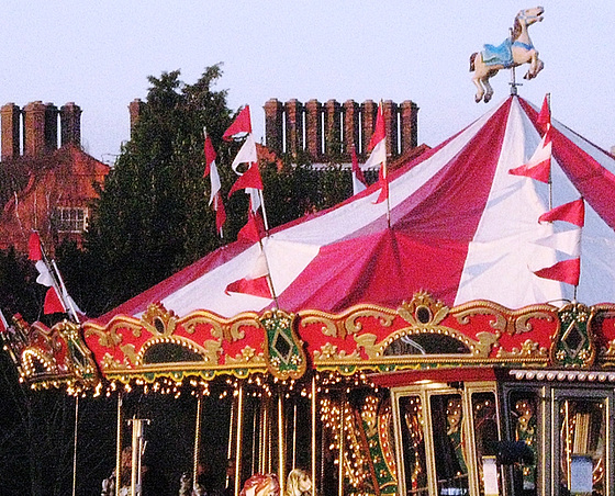 Carousel and chimneys