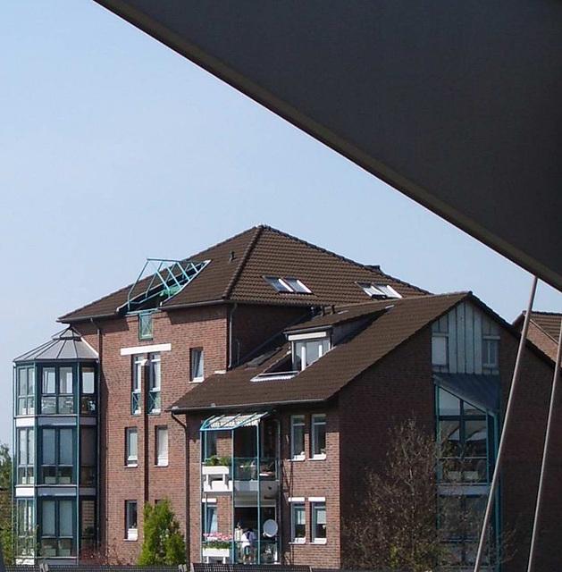 Hannnover: Bebauung am Mittellandkanal