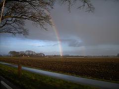 Regenboog, Rainbow, Ĉielarko, Regenbogen, arc-en-ciel, arco iris, arcobaleno.