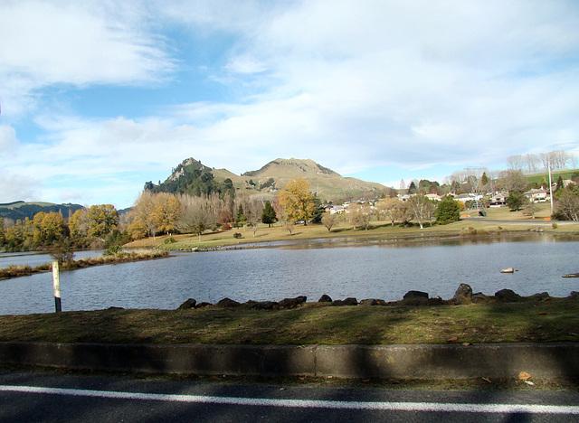 Whakamaru Village and Lake