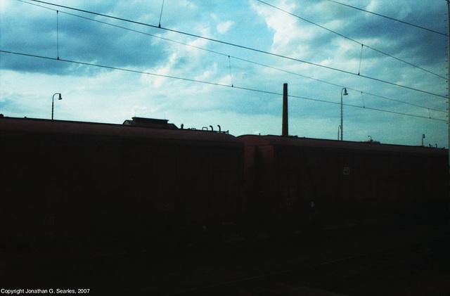 Sky Over Railyard, Ostrava, Silesia (CZ), 2007