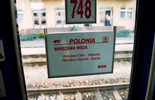 Polonia Destination Board, Petrovice u Karvine, Silesia (CZ), 2007