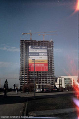 City Tower, Light Leaks, Pankrac, Prague, CZ, 2007