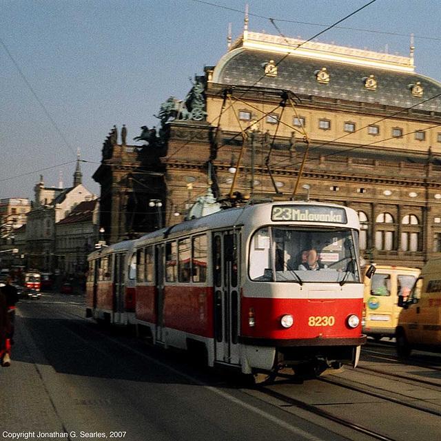 DPP #8230 On Most Legii, Prague, CZ, 2007