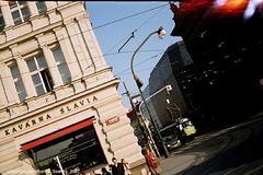 Kavarna Slavia and Narodni Divadlo, Crooked Shot, Prague, CZ, 2007