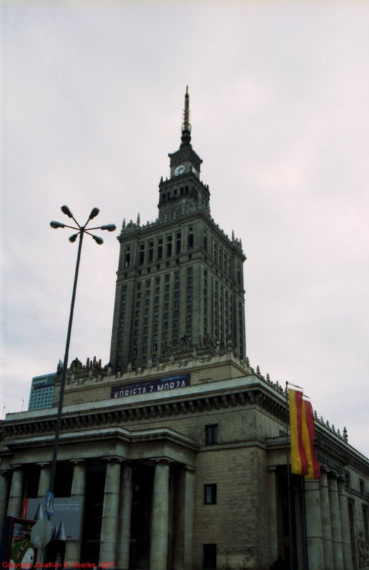 Palace of Culture and Science, Warsaw, Poland, 2007