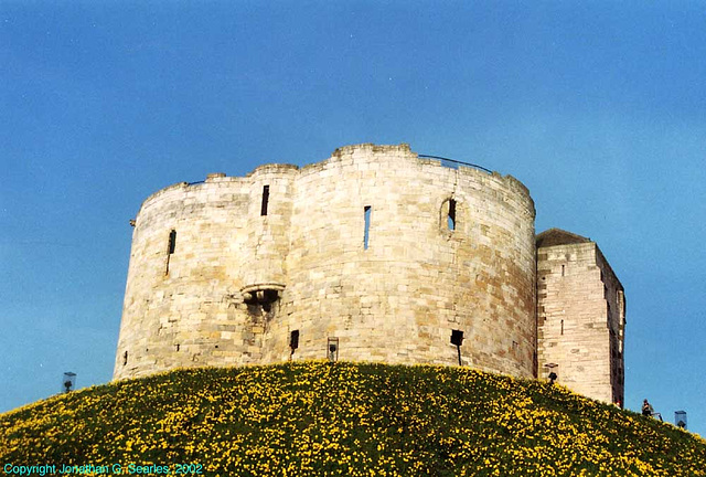 Clifford's Tower (rescan), York, England, 2002