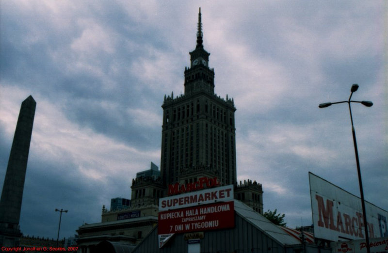 Palace of Culture and Science, Picture 2, Warsaw, Poland, 2007