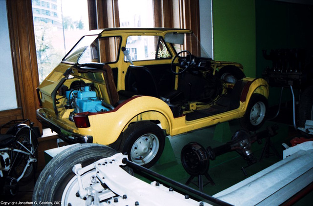 Fiat 126P, Palace of Culture and Science, Warsaw, Poland, 2007