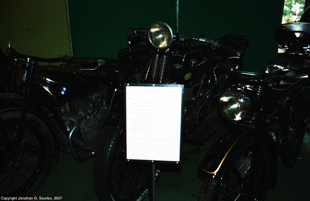 NSU 200 and Other Motorbikes, Palace of Culture and Science, Warsaw, Poland, 2007