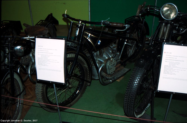 BMW R42 At The Palace of Culture and Science, Warsaw, Poland, 2007