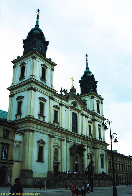 Church, Nowy Swiat, Warsaw, Poland, 2007