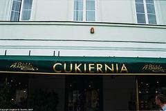 Cafe Blikle, Nowy Swiat, Warsaw, Poland, 2007