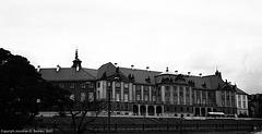 Royal Castle, Picture 2 B&W Version, Warsaw, Poland, 2007