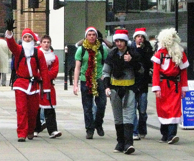 Père Noel et ses copains