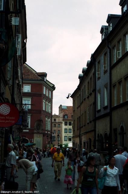 Street Scene, Picture 2, Warsaw, Poland, 2007