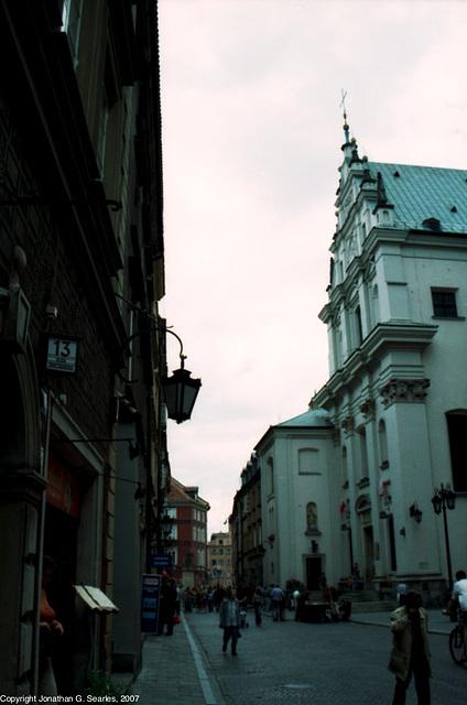 Ulica Swietojanska, Warsaw, Poland, 2007
