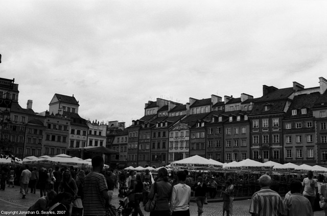 Old Town Square, Picture 2, Warsaw, Poland, 2007
