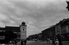 Looking Away From The Royal Castle, Warsaw, Poland, 2007