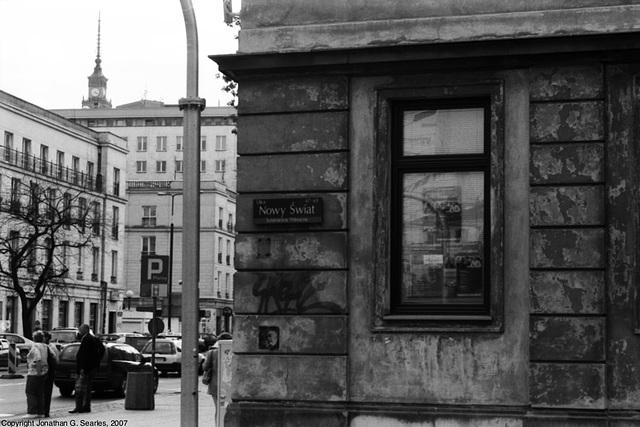 Nowy Swiat, Picture 2, Warsaw, Poland, 2007