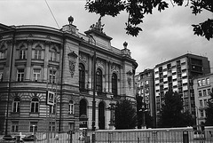 Old and New In Warsaw, Poland, 2007