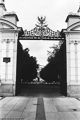 Entrance To The University Of Warsaw, Warsaw, Poland, 2007