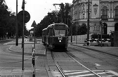 Old Tram At Polytechnika, Warsaw, Poland, 2007