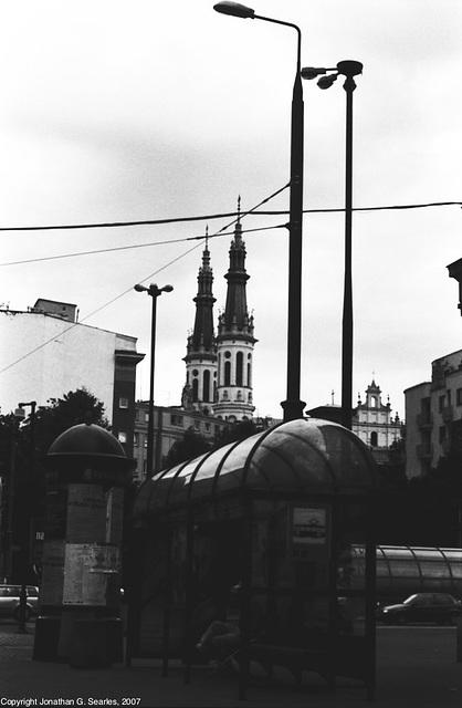 Politechnika Tram Stop, Warsaw, Poland, 2007
