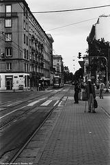 Politechnika Tram Stop, Picture 3, Warsaw, Poland, 2007
