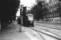 Warsaw Tram #436, Picture 3, Warsaw, Poland, 2007