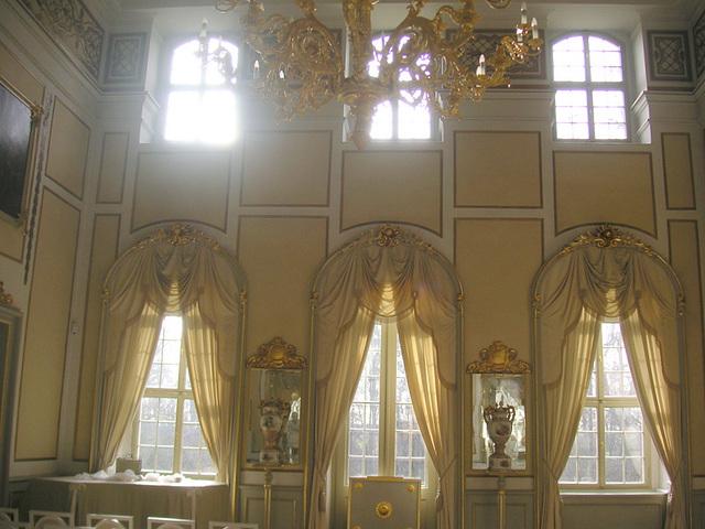 Schloss Rammenau - der gelbe Saal