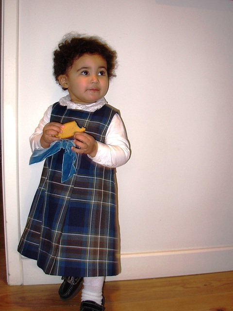 Rafaela, Christmas' dress