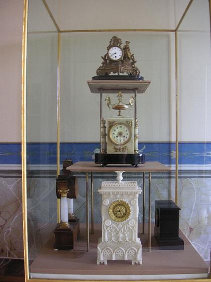 Schloss Rammenau Uhren