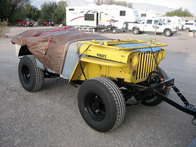 Willys as Trailer (8659)