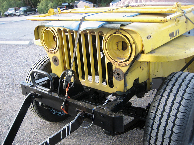 Willys as Trailer (8660)