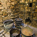 Kitchen - ancient Frisian house interior