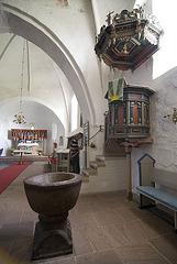 Church St. Laurentii Süderende, Föhr