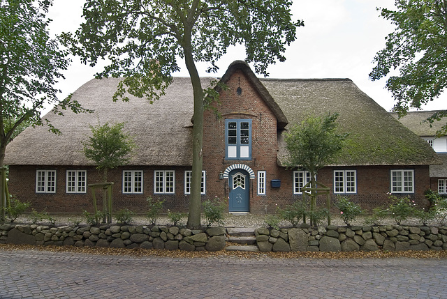 Frisian house on Föhr island