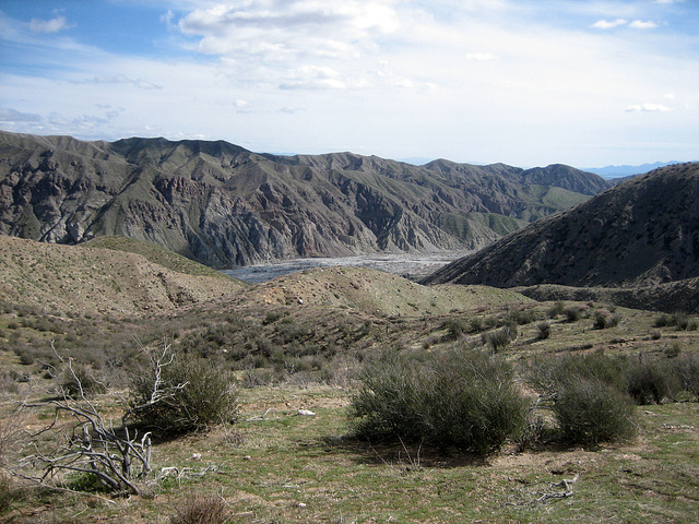 PCT View Into Whitewater Canyon (8949)
