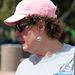 Pink Hat at Hohokam Stadium (9798)