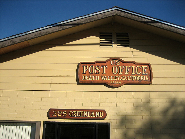 Death Valley Post Office (8591)
