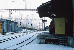 Pontresina Railway Yard, Pontresina, Switzerland, 1998