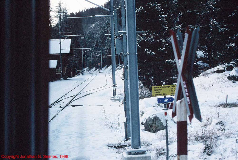 Incline Out Of Pontresina, Switzerland, 1998