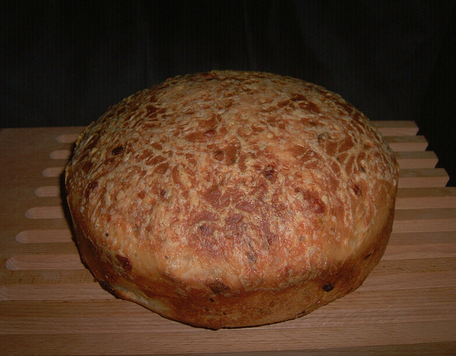 Roasted Onion and Asiago Miche