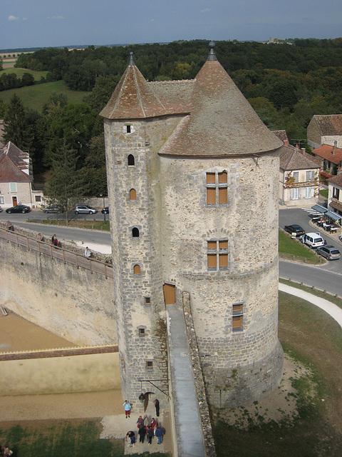 Château de Blandy - La tour des archives