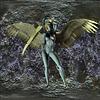 Queen of Swords - Gold